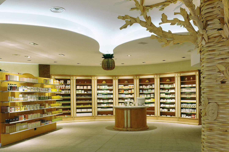 Arredamenti per catene di farmacie ral system classic sv for Catene arredamento